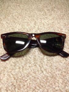 Vintage Wayfarer-style sunglasses