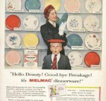Vintage Mid-Century, Melamine- Melmac, Kitchen Dinnerware And Serving Pieces