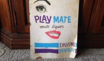 "1960's ""Playmate"" Malt Liquor Beer Can Sold for Over $1,000 on Ebay!"