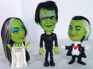 Remco Kayro-Vue Munsters toy dolls