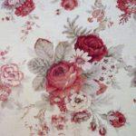Vintage Red Rose wallpaper