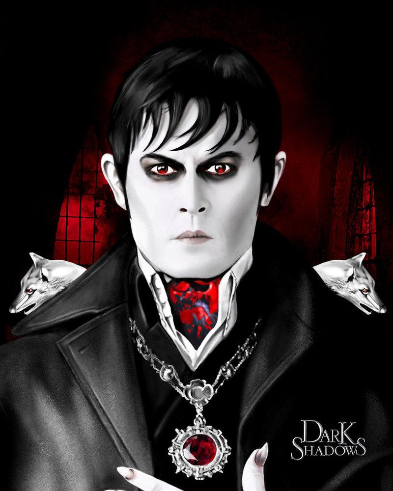 2012 Dark Shadows-Johnny Depp as Barnabas Collins