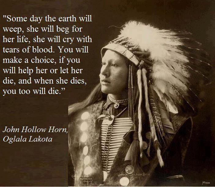 John Hollow Horn-Oglala Lakota