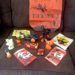 Vintage Halloween paraphernalia lot