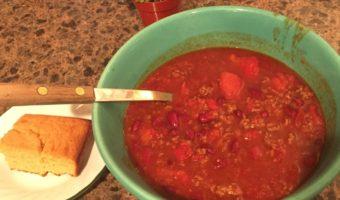 Patty's Perfect & Practical Homemade Chili Recipe