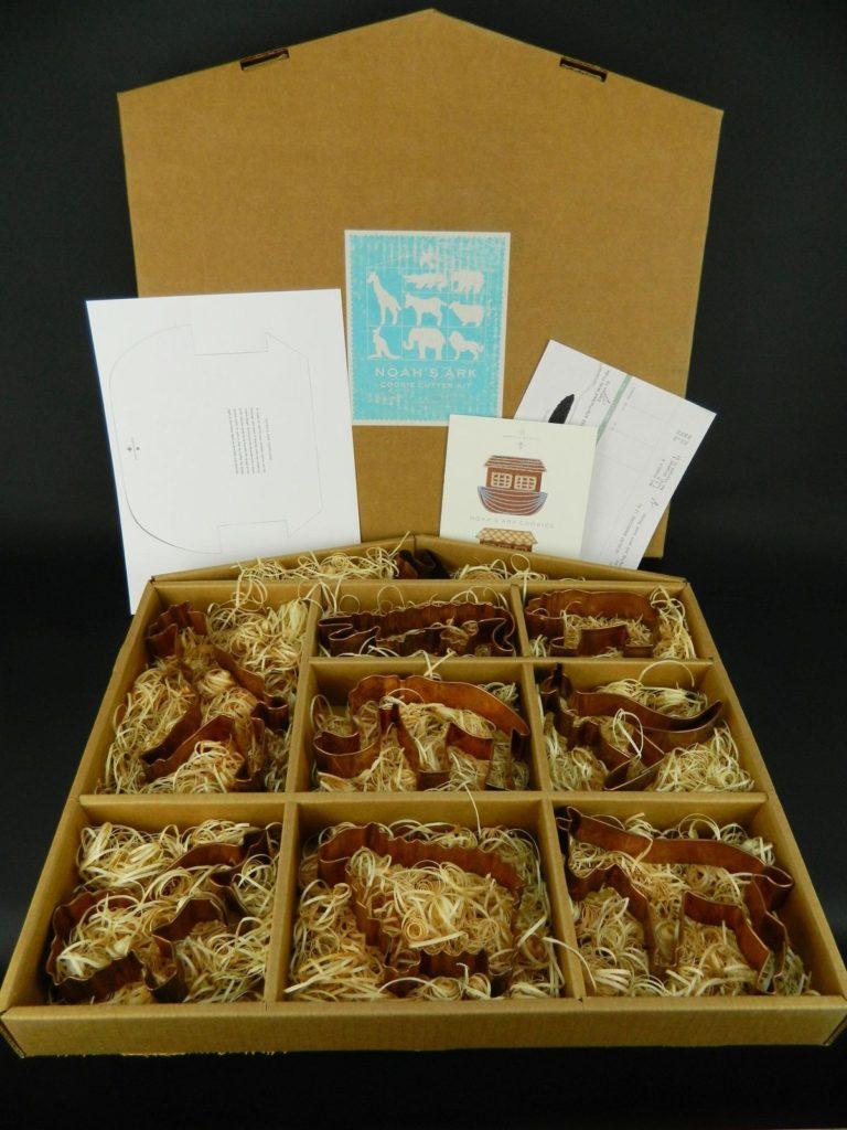Martha Stewart Noah's Ark #1 Set Copper Cookie Cutters