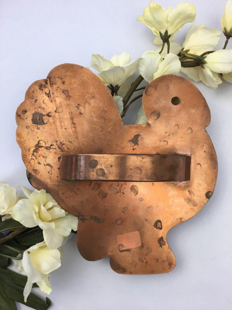 Martha Stewart Cape Cod turkey copper cookie cutter