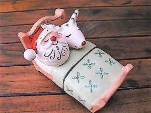 Vintage Holt-Howard Christmas salt and pepper shakers