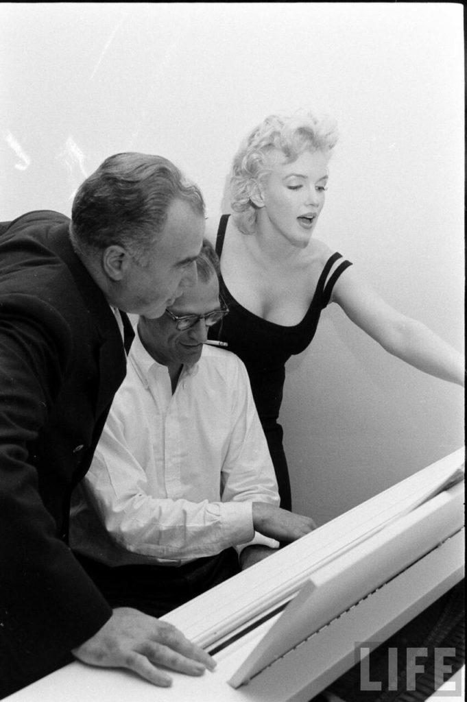 Actress and sex symbol Marilyn Monroe