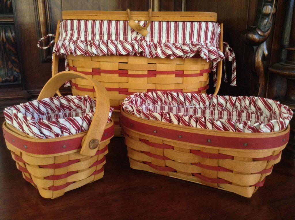 Longaberger basket set